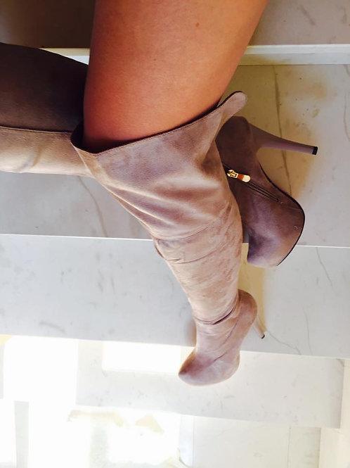 Čizme preko koljena/platforma