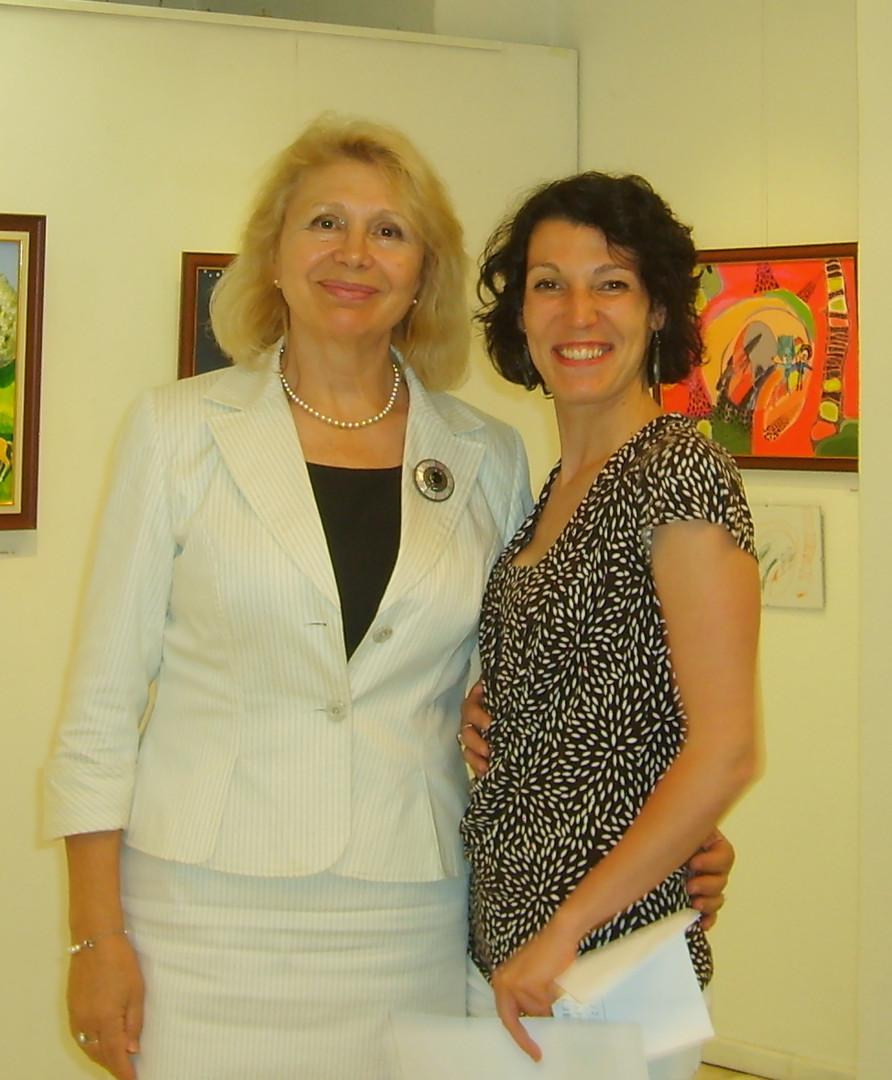 Head of Cultural Institute in Bratislava and I