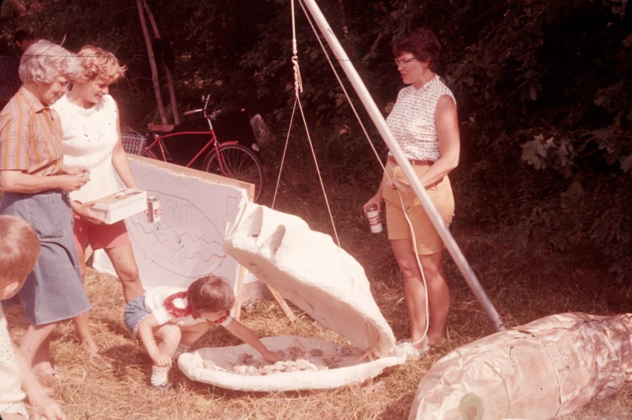 Giant clam 1961