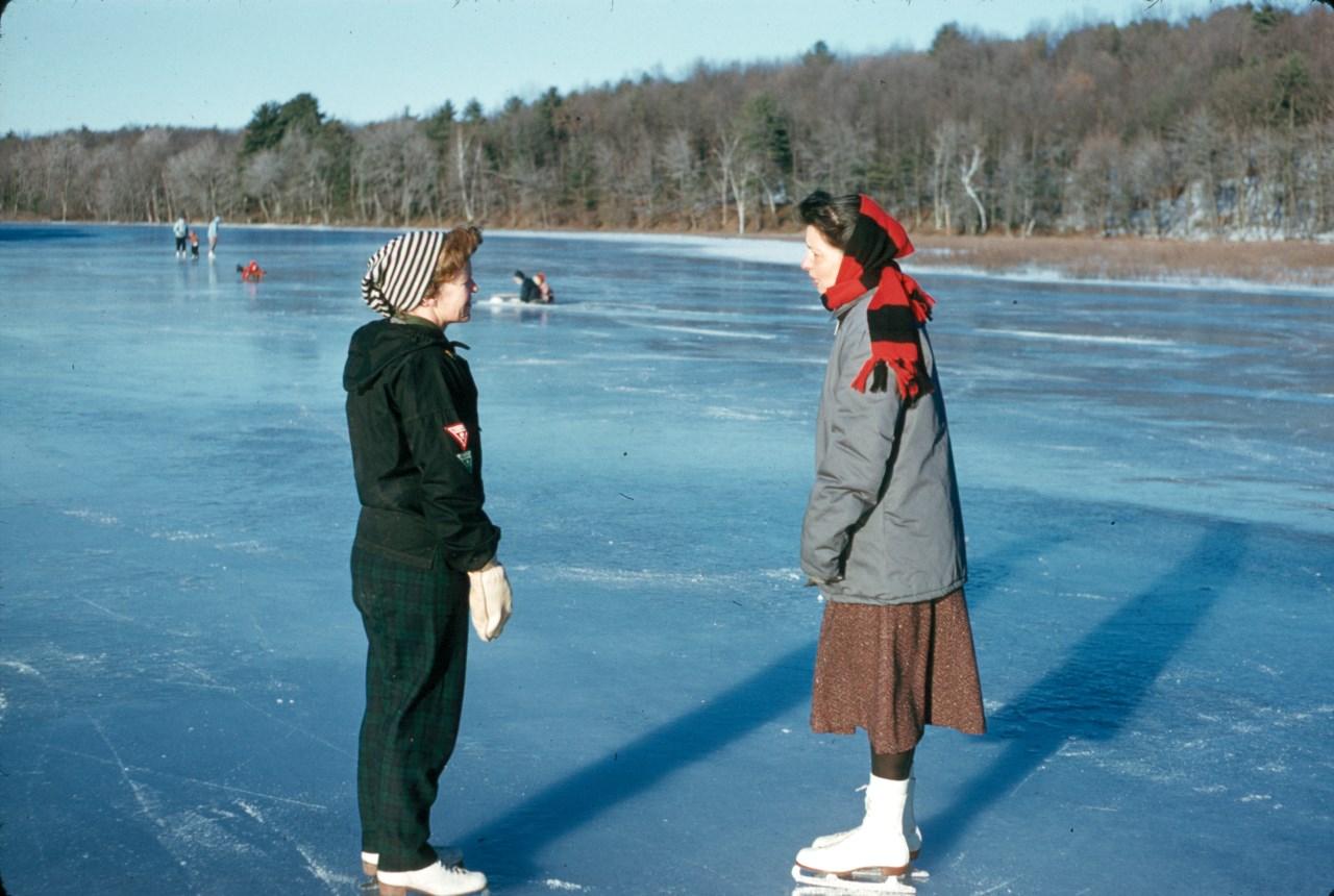 River skating