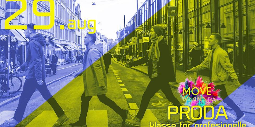 PRODA med Walk Dance Company