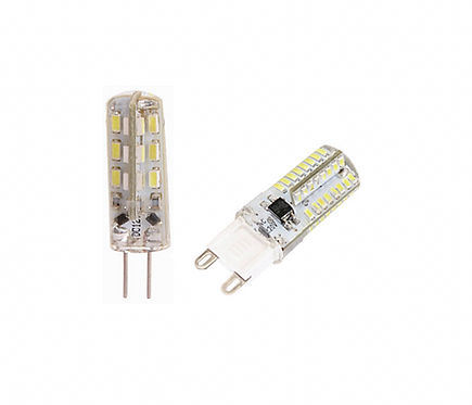LIGHTUP LED G4 or G9 Replacement Bulbs