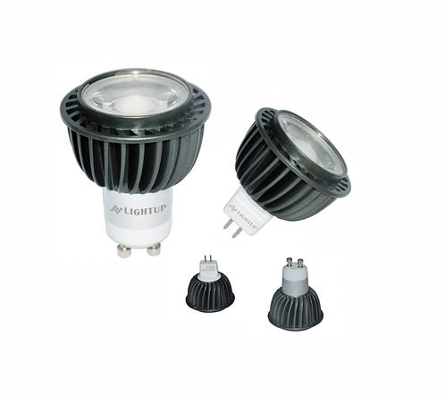 LIGHTUP LED Spotlight 8W GU10 or MR16
