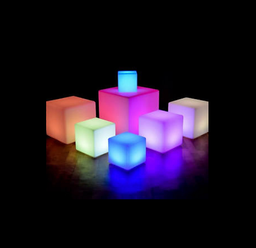 LIGHTUP LED RGB CUBE