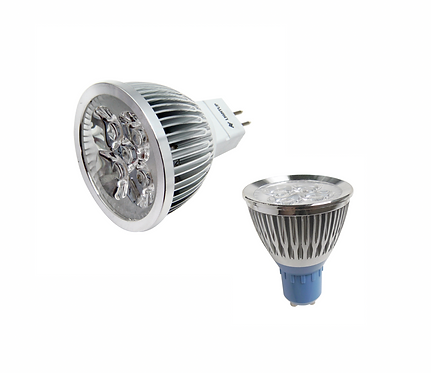 LIGHTUP LED Spotlight 4W GU10 or MR16