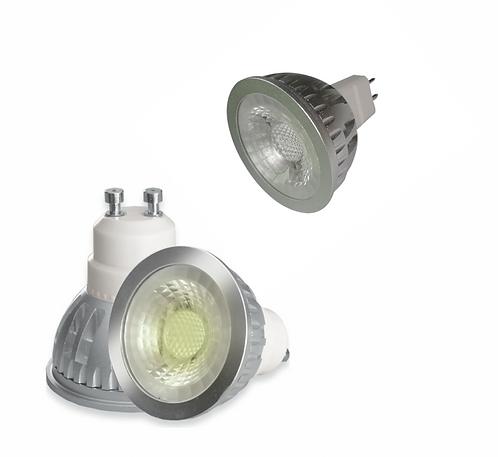 LIGHTUP LED Spotlight 6W GU10 or MR16