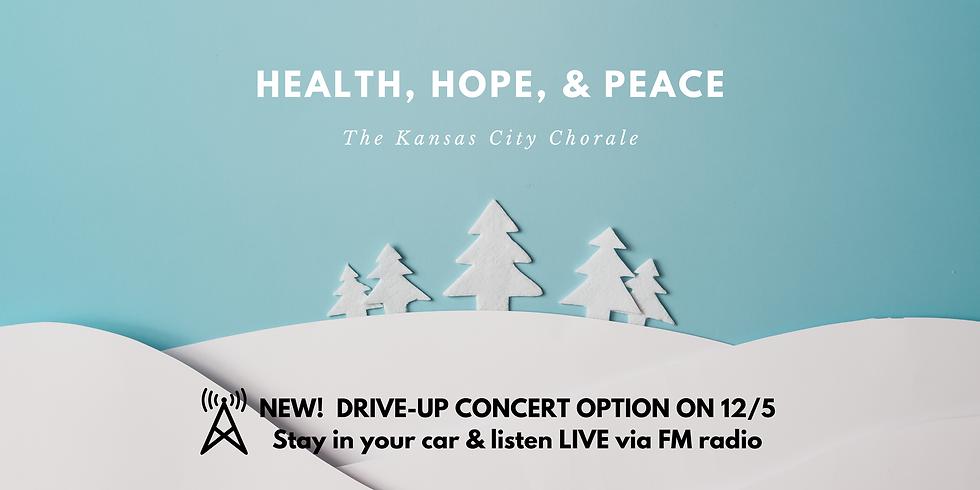 Health, Hope, & Peace