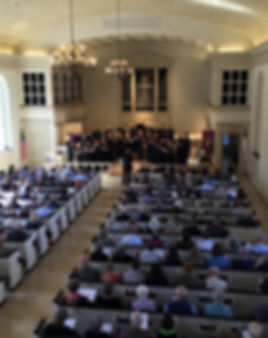 The Kansas City Chorale performs at Prairie Bluegrass at St. John's United Methodist Church in Kansas City, MO