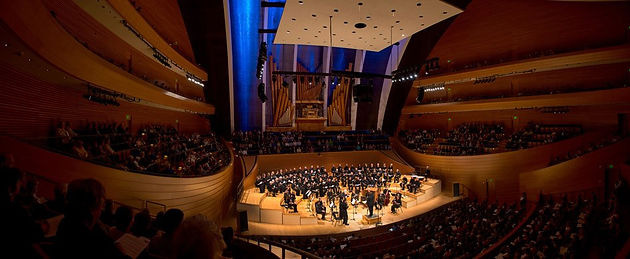 Bryan Pinkall performs as the tenor soloist in a production of Bach's Mass in B Minor at the Kauffman Center for the Performing Arts