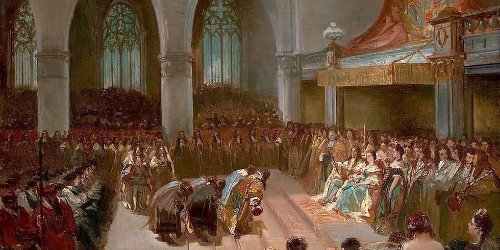 The Coronation of William III