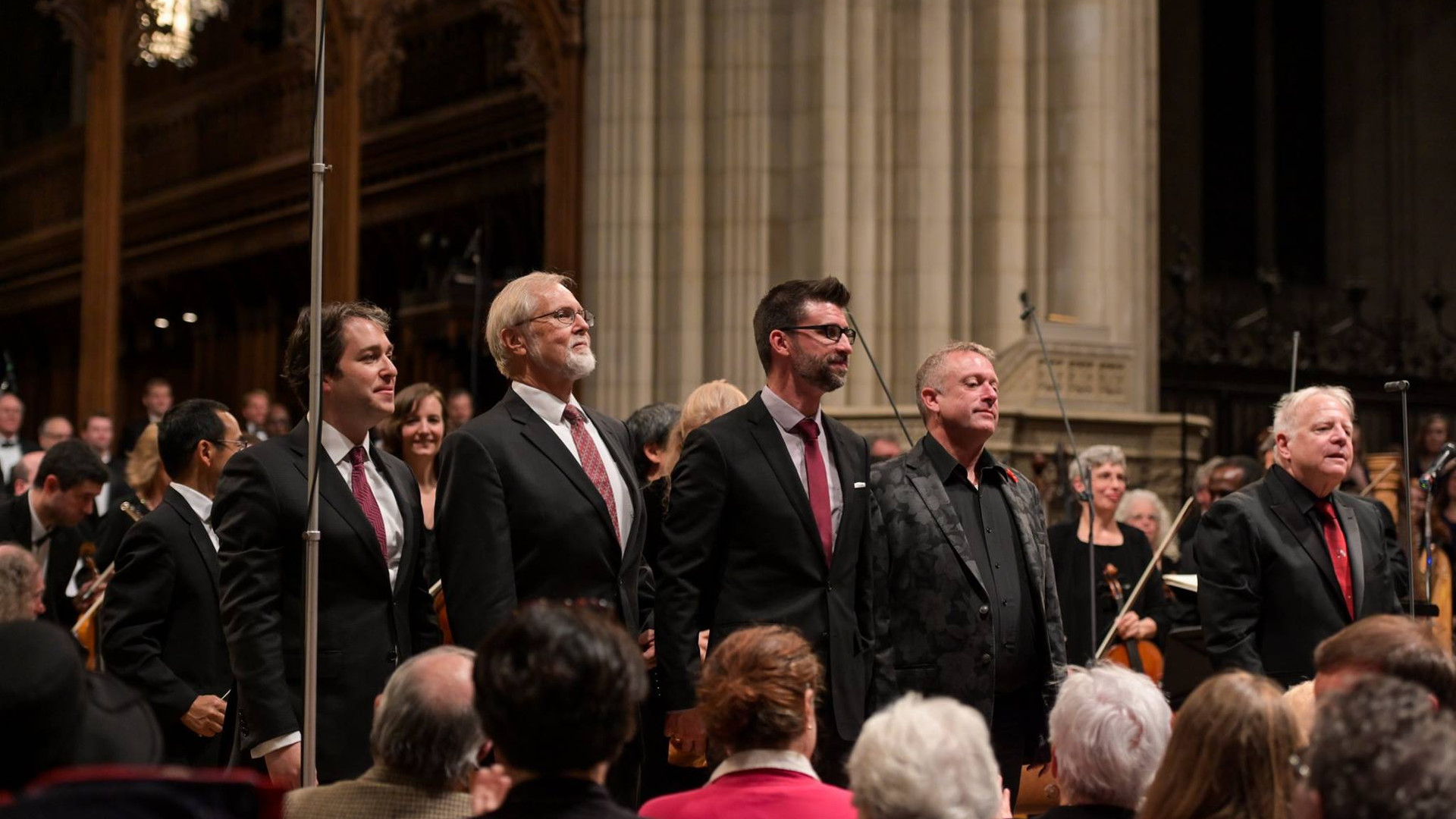 Leonard Slatkin, Charles Bruffy, Benedict Sheehan, Stephen Fox, and Vlad Morosan Kastalsky Requiem