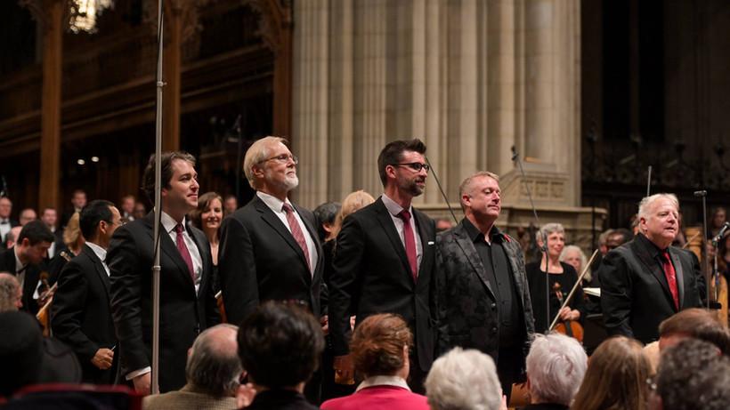 Leonard Slatkin, Charles Bruffy, Benedict Sheehan, Stephen Fox, and Vlad Morosan Kastalsky Requiem