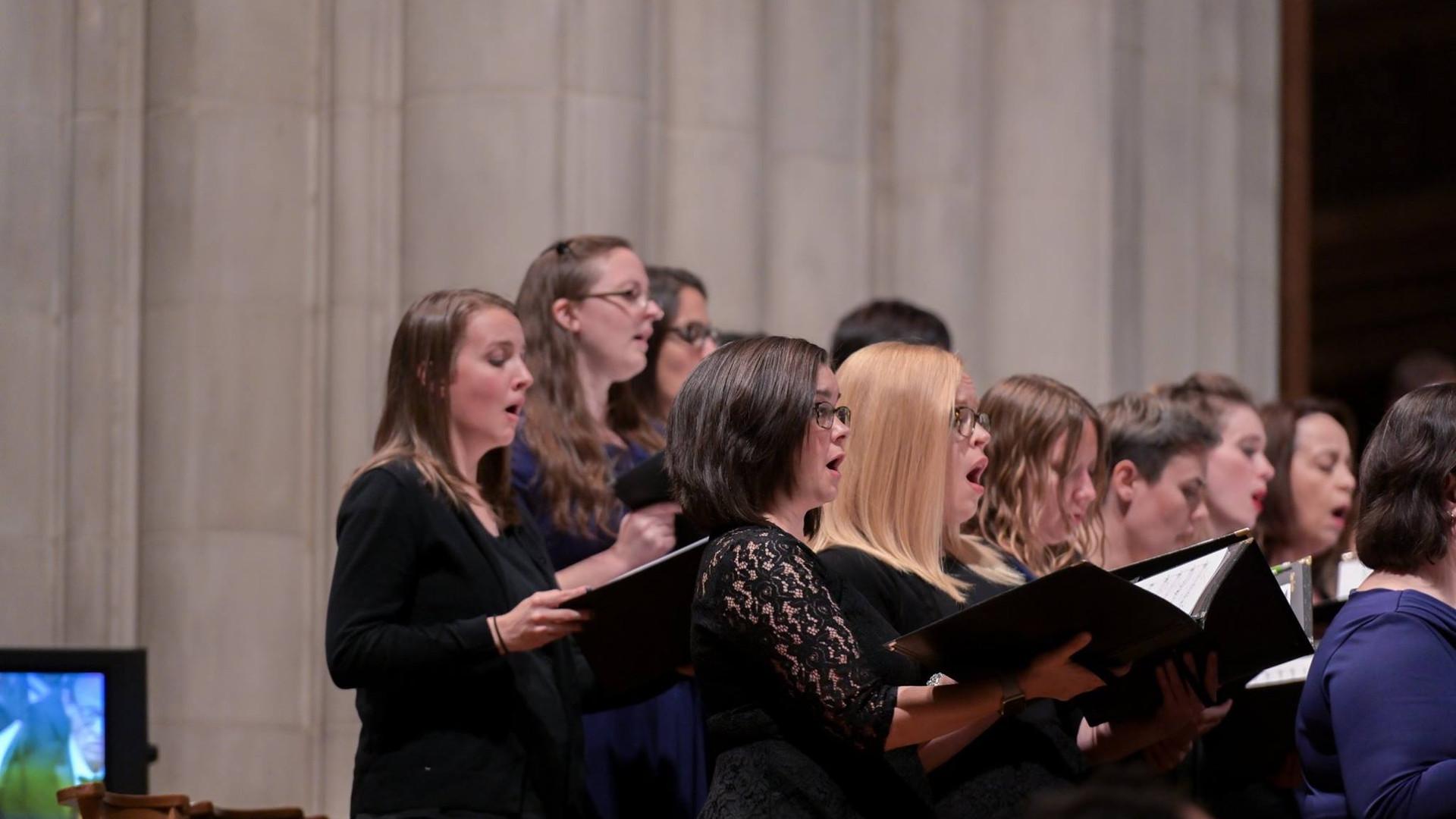 Alyssa Toepfer and Sarah Tannehill Anderson Kastalsky Requiem