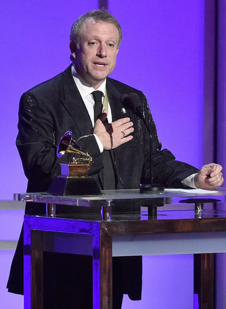 Charles Bruffy wins the Grammy award for Best Choral Performance at the 58th Grammy Awards