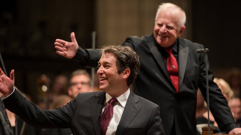 Leonard Slatkin and Stephen Fox Kastalsky Requiem