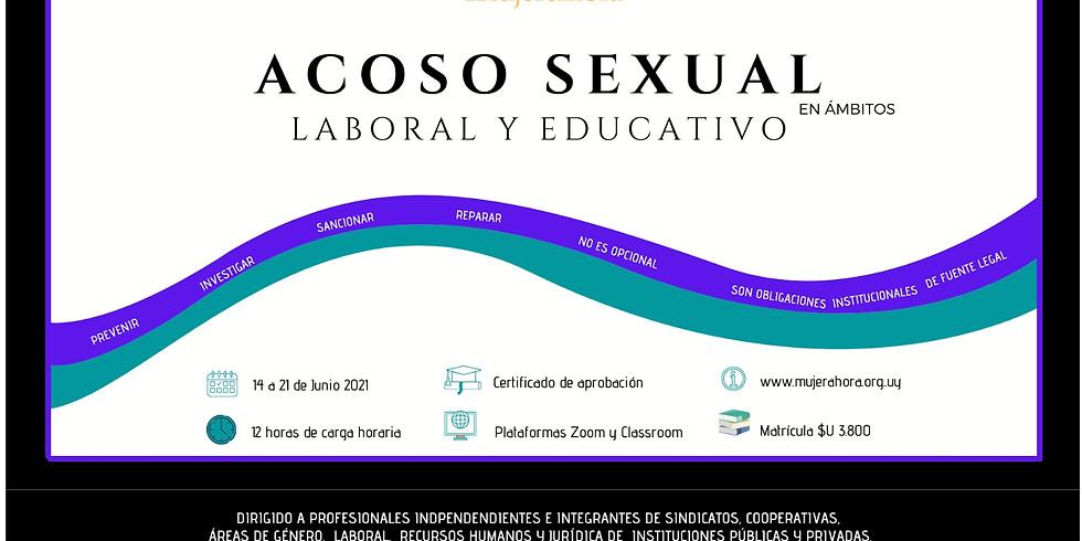 ACOSO SEXUAL en ámbitos LABORAL Y EDUCATIVO - Modalidad a distancia (2)
