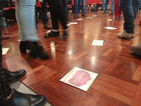 """""""Caminata de la desigualdad"""" en MEVIR"""