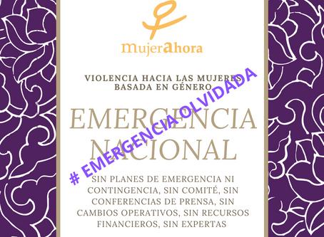 Emergencia Nacional Olvidada