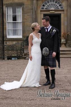 Rebecca's Scottish Wedding
