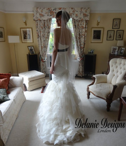 Opulent Tuile and Tafetta Gown