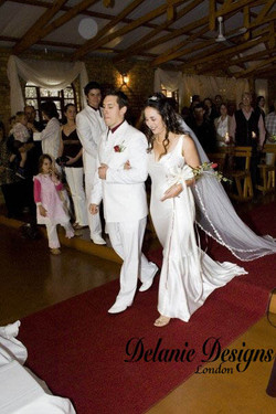 Beautiful Silk Bias Gown