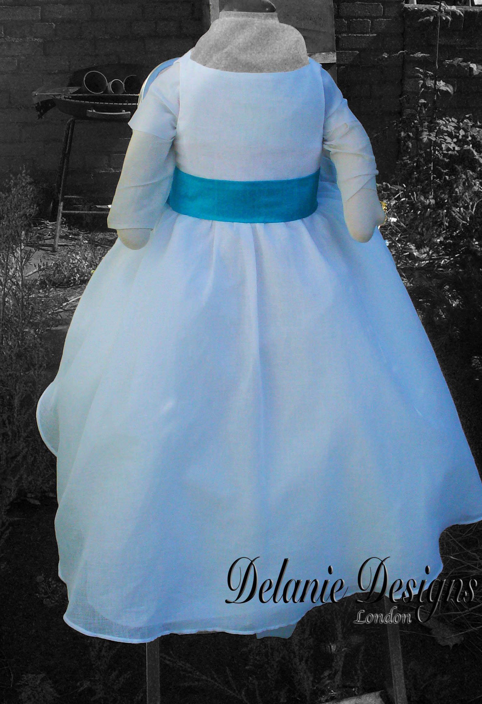 Muslin Layered Petite Jeune Dress