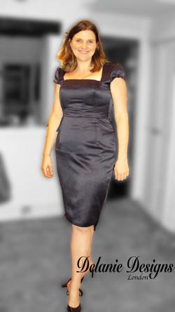 Satin Maid of Honour Dress