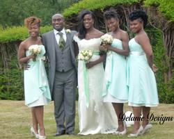 Mel, Taye & Bridal Party