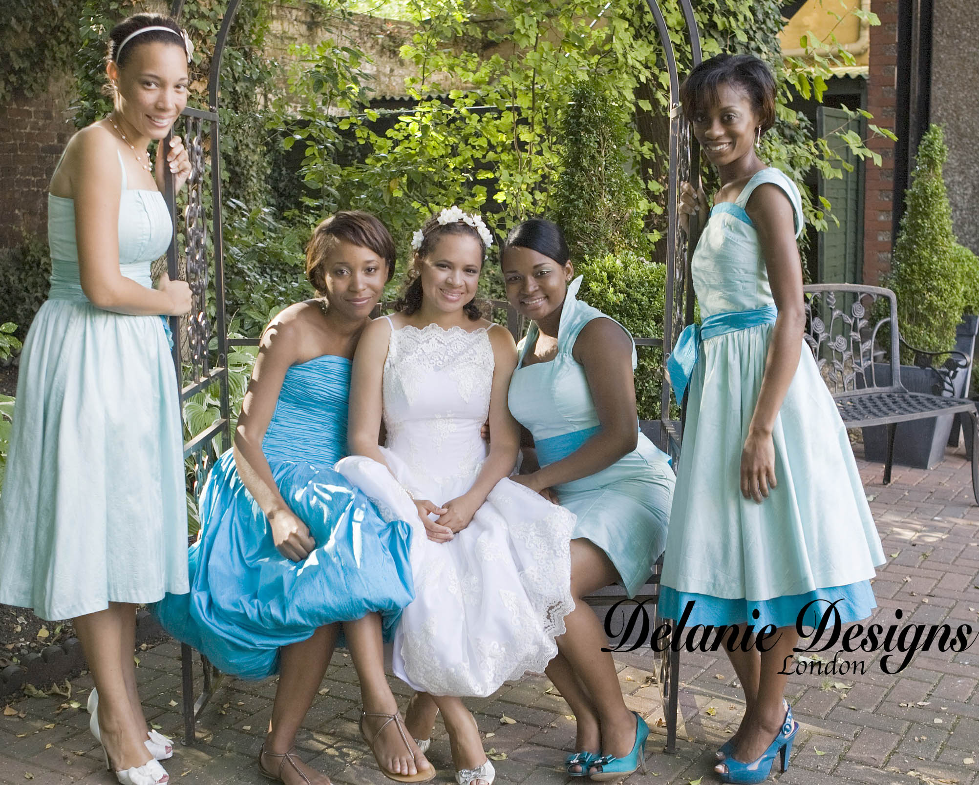 Summer Silk Satin Wedding Party