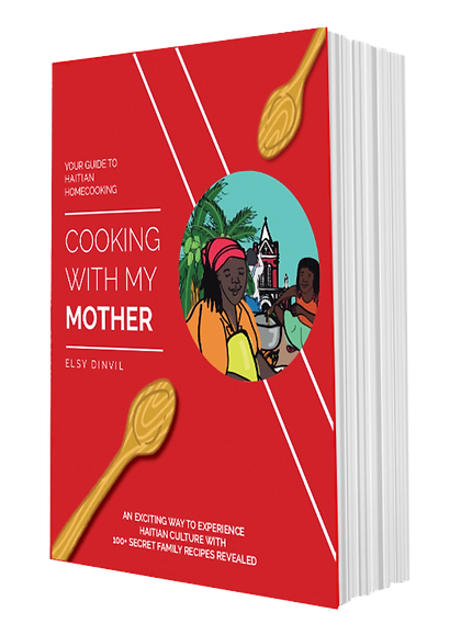 Cooking With My Mother Illustration