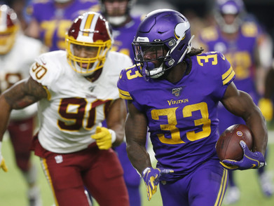 Cooking up a Show (Fantasy): Vikings & Redskins TNF Recap