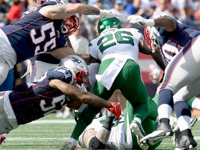 Fantasy Winners and losers from patriots and jets
