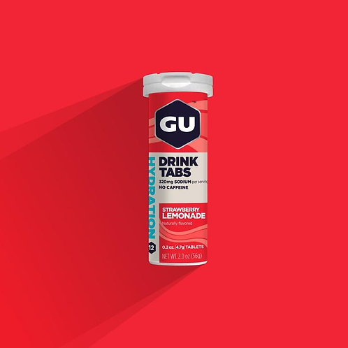 GU STRAWBERRY LEMONADE Hydration Tablets