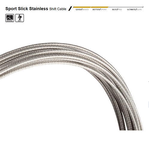 Jagwire Sport Slick Stainless Shift Cable