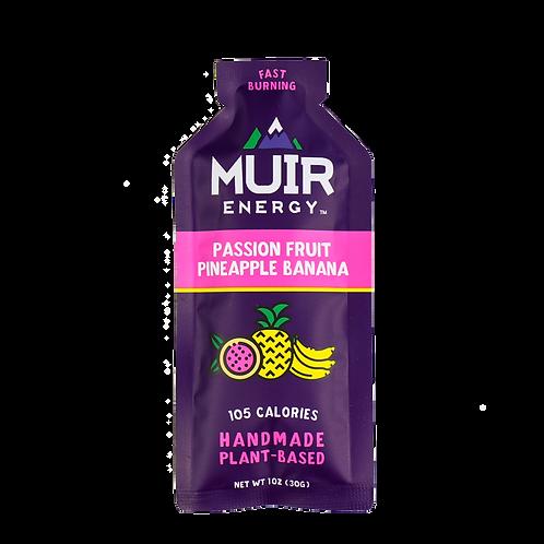 MUIR Passion Fruit Pineapple Banana Energy Gel