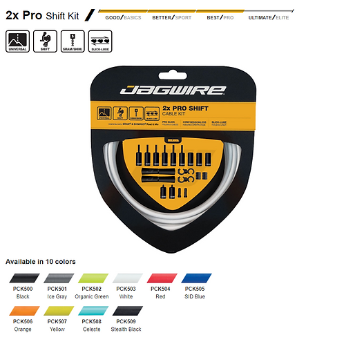 Jagwire 2x Pro Shift Kit