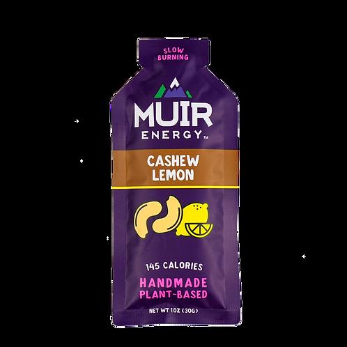 MUIR Cashew Lemon Energy Gel