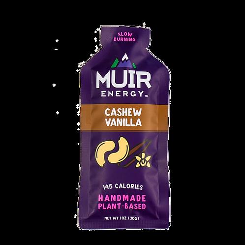 MUIR Cashew Vanilla Energy Gel