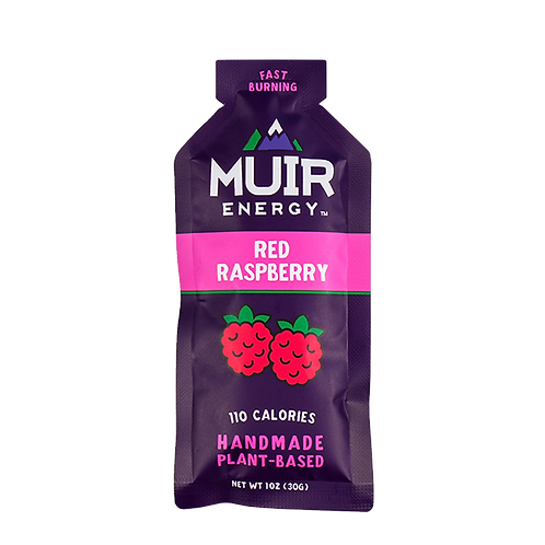 MUIR Red Raspberry Energy Gel