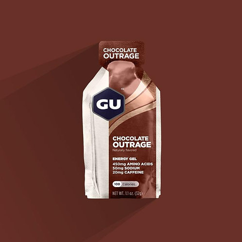 GU CHOCOLATE OUTRAGE Energy Gels