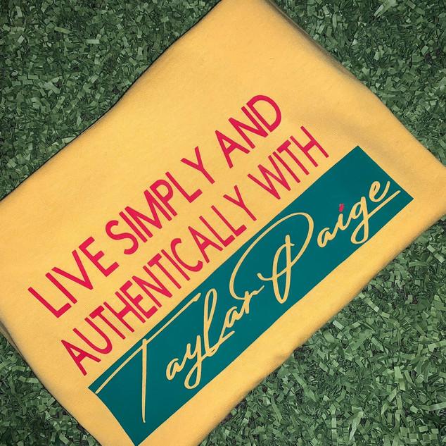 Live Simply - $15