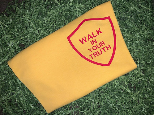 Walk In Your Truth - Yellow