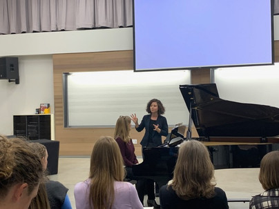Faculty 'Female Composers' Concert, Utah State University Eastern, 2/2020