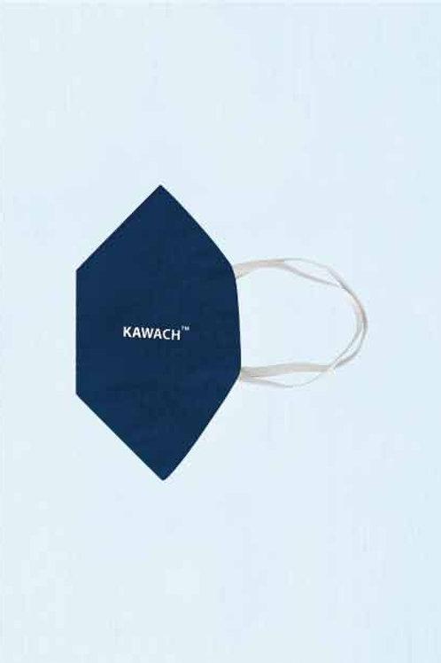 KAWACH STANDARD MASK – NAVY BLUE