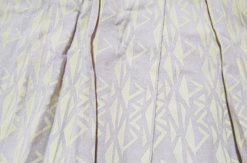 035f772802 Wrap Around Pleat Skirt Fabric: Linen.