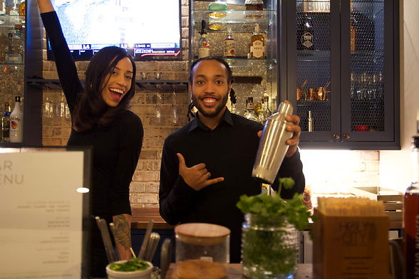 Bartending Services: Brittney & Ray