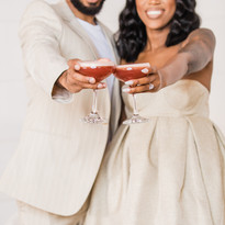 This newly engaged couple loved our Uncle Nearest Blood Orange Sour!