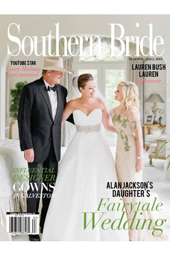 We're Featured in Southern Bride Magazine