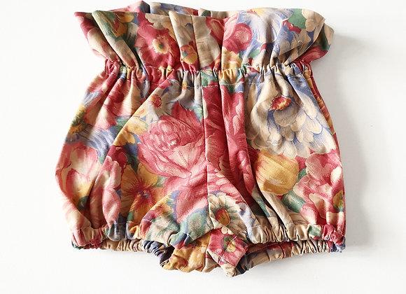 Walandella Designs Vintage Floral Paper Bag Bloomers size 000