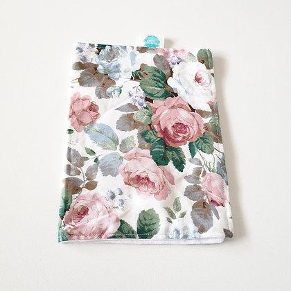 Walandella Designs Victorian Rose Burp Cloth